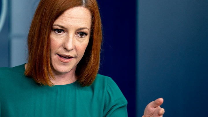 Watch live as Jen Psaki holds White House briefing