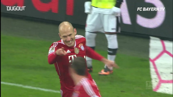 FC Bayern's top Allianz Arena goals vs Eintracht Frankfurt