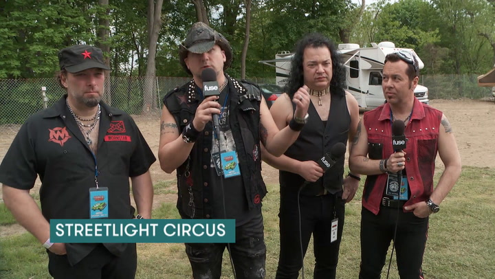 Streetlight Circus Give Festival Tips at Rock 'N Derby 2016