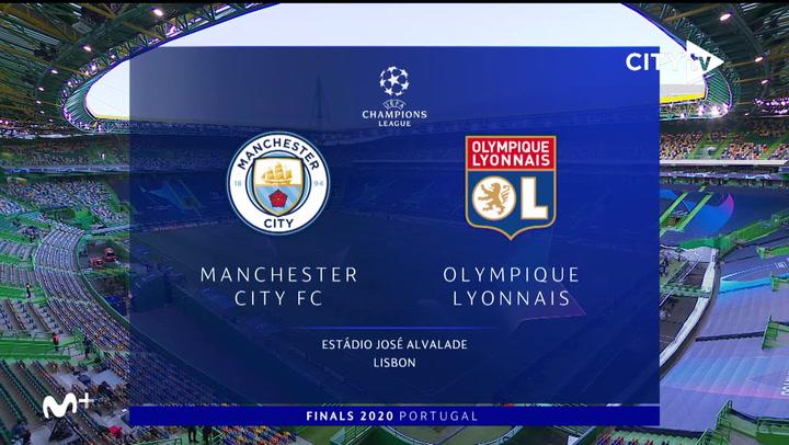 Champions League: Resumen y Goles del Manchester City-Olympique de Lyon