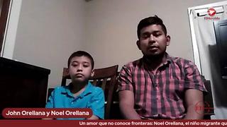 Un amor que no conoce fronteras: Noel Orellana, el niño migrante que le dio sentido a la caravana