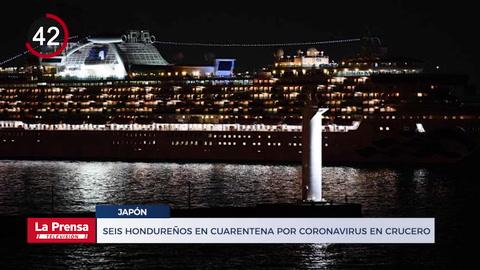 Seis hondureños en cuarentena por coronavirus en crucero en Japón y otras noticias