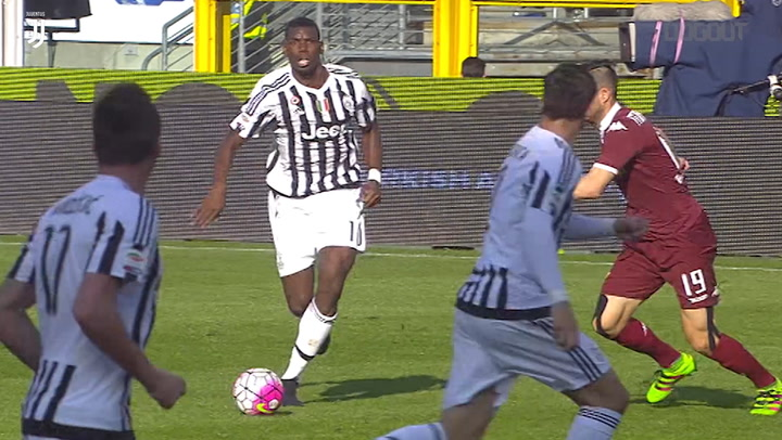 Best Assists: Paul Pogba Vs Torino