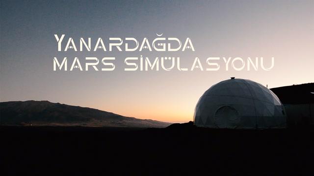 Yanardağda mars simülasyonu