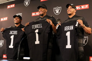 Raiders first-round draft picks embrace team's culture, tradition – VIDEO