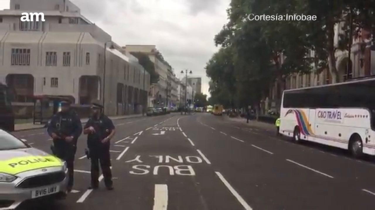 Vuelve el pánico a Londres con atropellamiento