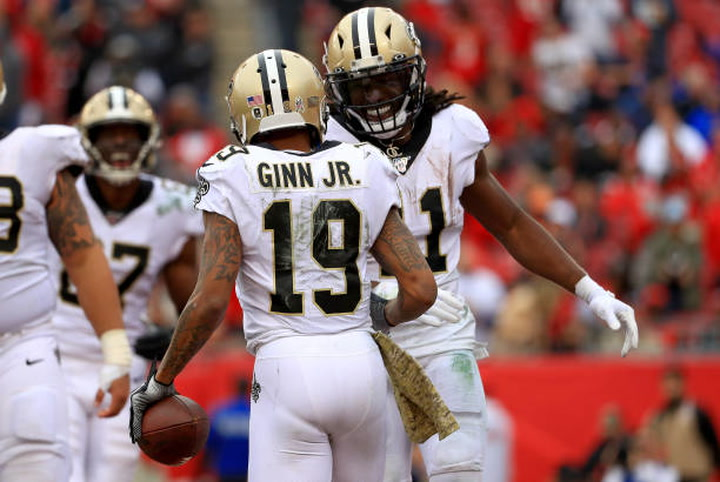 Michael Thomas reacts to Bill Vinovich's assignment to Super Bowl LIV