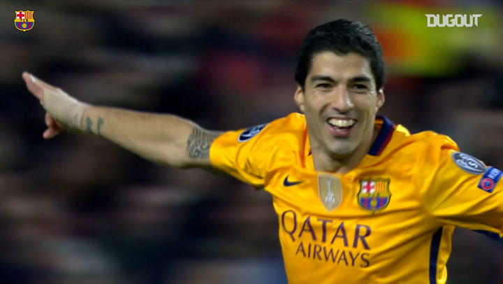 Luis Suárez header beats Atletico Madrid in Champions League