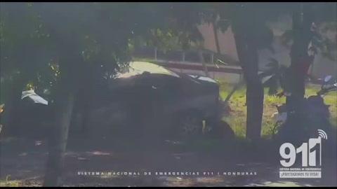 Accidente estuvo a punto de provocar tragedia en Tegucigalpa