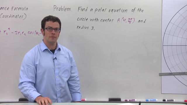 The Distance Formula in Polar Coordinates - Problem 3