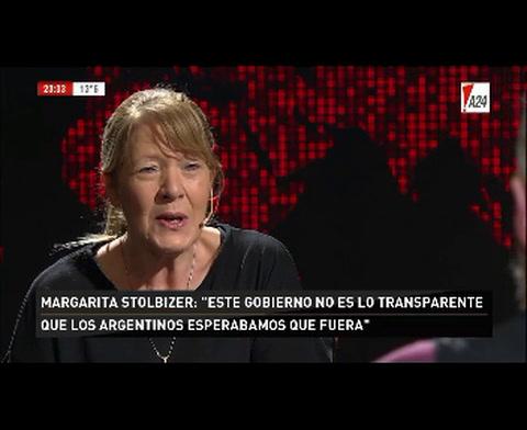 Stolbizer: Siempre dije que Macri es la herencia que nos dejó Cristina