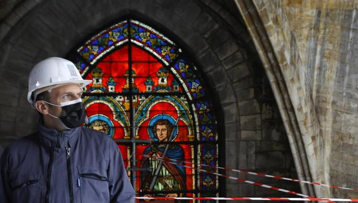 Así estan las obras de restauración de la iglesia de Notre Dame tras el incendio de 2019