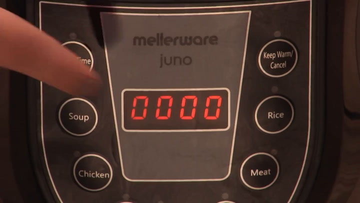 Preview image of Mellerware Juno Pressure Cooker In Use video
