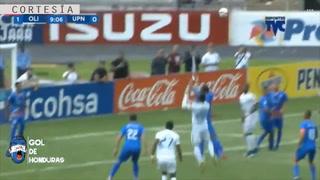 Deibi Flores abre el marcador para el León ante UPNFM