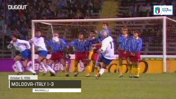 Italy's top five goals vs Moldova