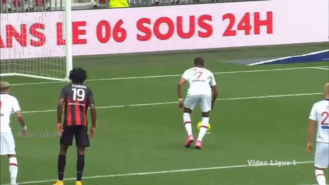 Nice 0-3 PSG (Liga de Francia)