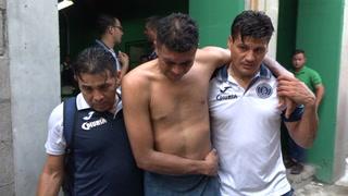 Sergio Peña se desmaya tras inhalar químicos que habían en el camerino del Yankel