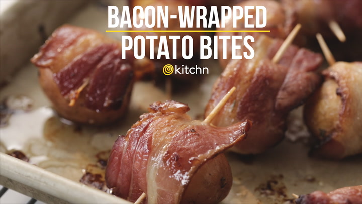 Recipe bacon wrapped potato bites kitchn forumfinder Images