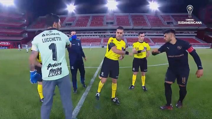 Independiente venció a Atlético de Tucumán en el duelo argentino de la ida de la segunda fase de la CONMEBOL sudamericana