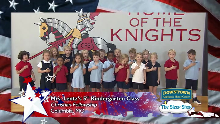 Christian Fellowship - Mrs. Lentz - Kindergarten