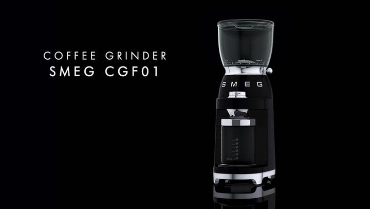 Preview image of Smeg Retro Coffee Grinder, 150W video