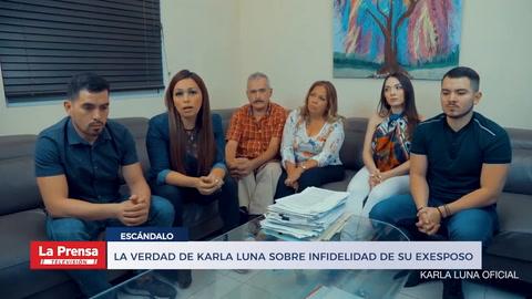 La verdad de Karla Luna sobre infidelidad de su exesposo con su amiga Karla Panini
