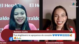 Cantante hondureña Angie Flores en exclusiva para El Heraldo