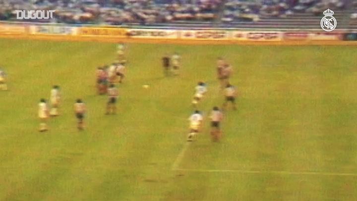 Hugo Sánchez's goals in LaLiga during the 1989-90 season - Part I