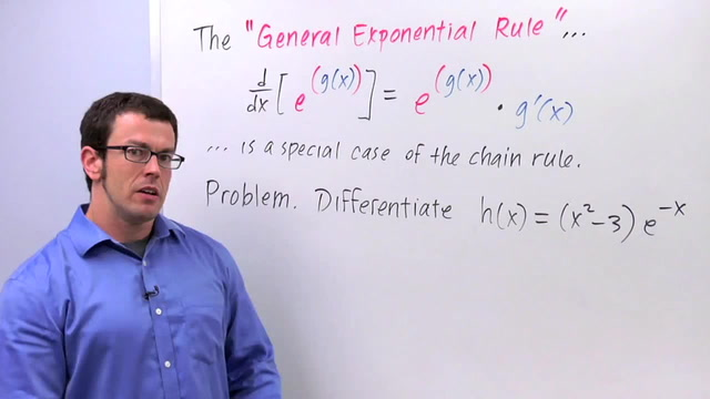 Chain Rule: The General Exponential Rule - Problem 2