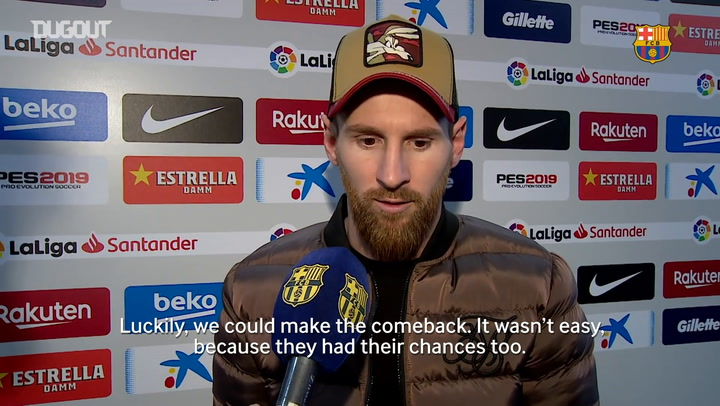 Messi: 'I Want Barça To Win The Treble'