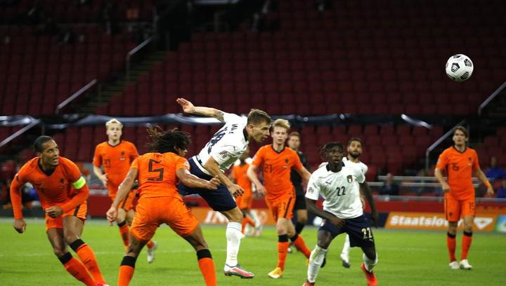 Italia gana  a Países Bajos con un gol de Nicolò Barella en la Nations League