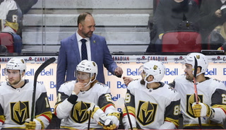Golden Knights coach Peter DeBoer postgame news conference – VIDEO