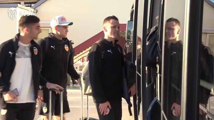 El Valencia viaja a Arabia para disputar la Supercopa