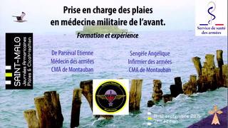 Prise en charge des plaies en médecine militaire de l