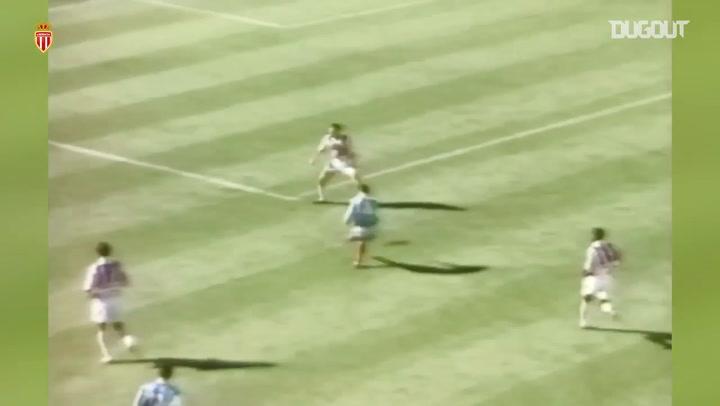 David Trezeguet's first goal at Monaco