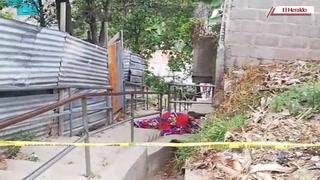 Matan de 16 disparos a hombre en gradas de la colinia Los Pinos