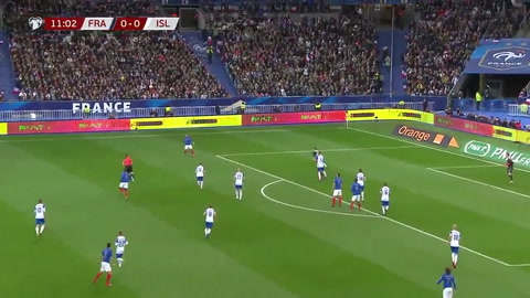 Francia 4 - 0 Islandia