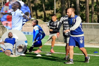 Alberth Elis en duda para Copa Oro, Edrick Menjívar sin yeso y descartan lesión ósea en Buba López