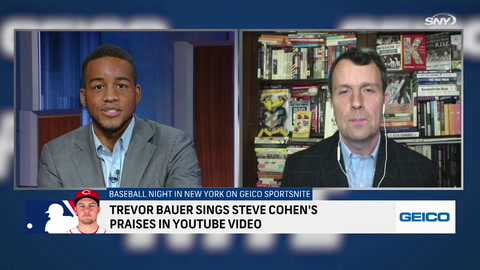 Trevor Bauer's YouTube praise for Steve Cohen shows he has Mets on his mind
