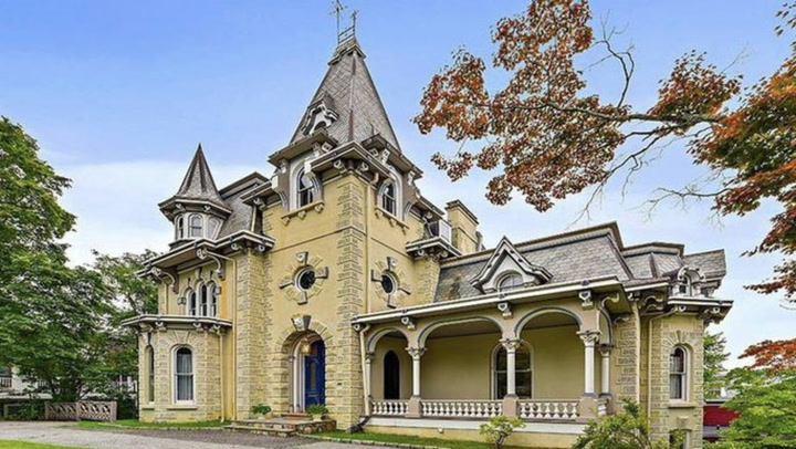 Historic NY Home for Sale Has a Fascinating Past—but Is It Haunted?