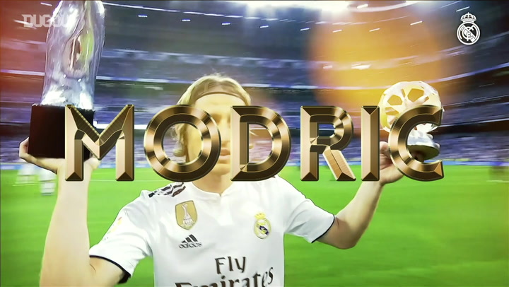 Real Madrid's Ballon D'Or Nominees 2018