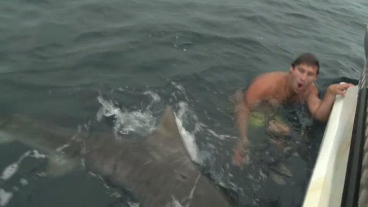 Dykkerstuntet gikk nesten galt