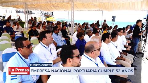 Empresa nacional portuaria Cumple 52 Años