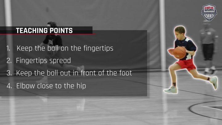 Dribbling On The Move - Speed Dribble