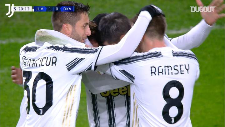 Chiesa shines in Juventus 3-0 win vs Dynamo Kiev