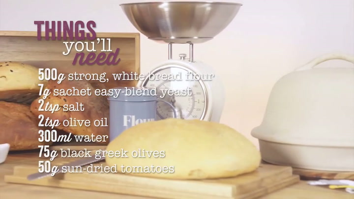Preview image of Kitchen Craft Home Made Stoneware Bread Baking Clo video