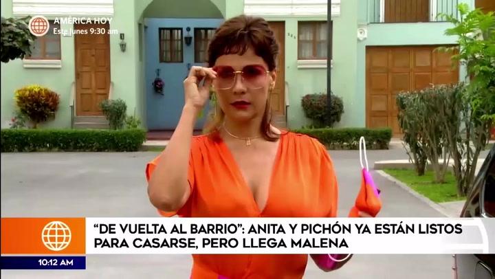 'Malena' regresó al barrio de San José e interrumpió la boda de 'Anita' y 'Pichón'