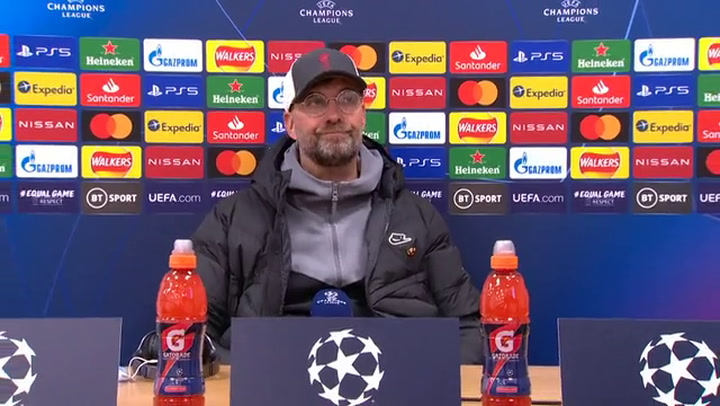 Jurgen Klopp post Real Madrid ©UEFA 2020
