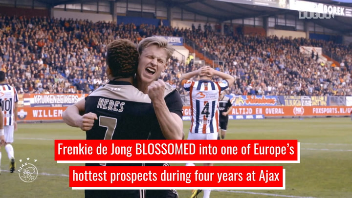 Frenkie de Jong's rise to stardom at Ajax