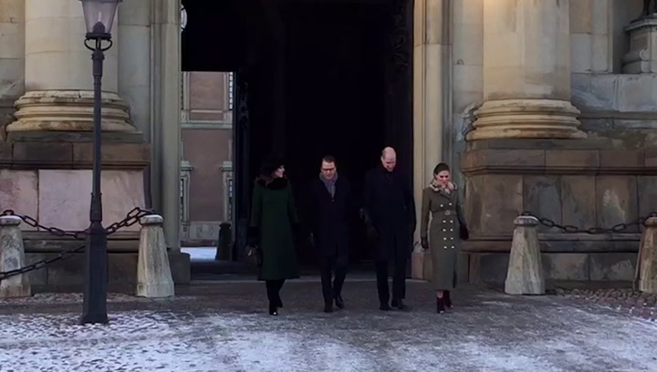 Swedish royal tour: William and Kate visit Stockholm